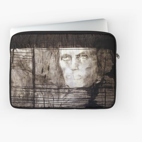 portrait of david robert jones Laptop Sleeve