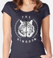 The Walking Dead Ezekiel Sheeva The Kingdom Women's Fitted Scoop T-Shirt