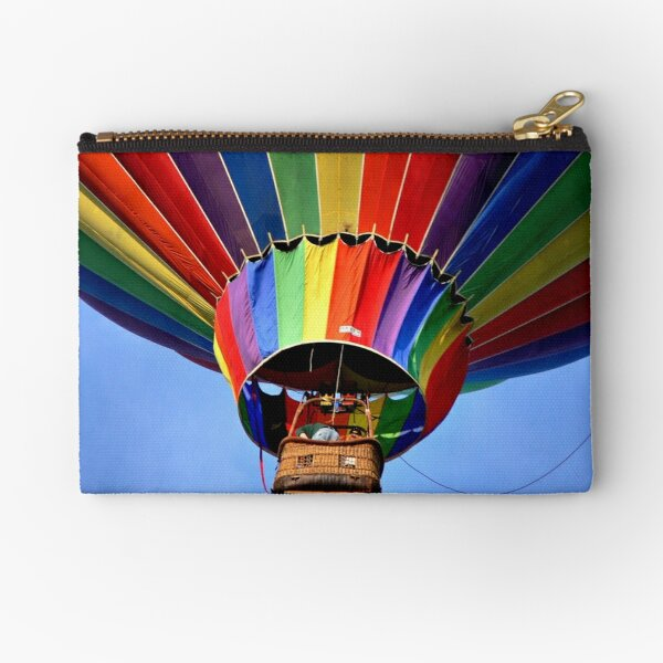 Hanging from a Rainbow Zipper Pouch