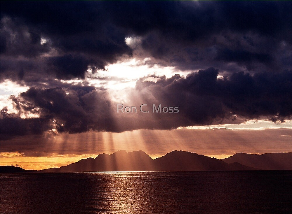 Coles Bay, Tasmania by Ron C. Moss