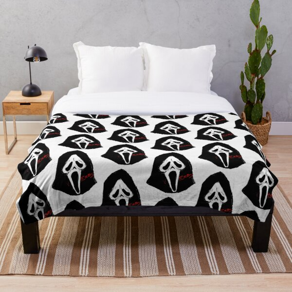 gh0stfacE Throw Blanket