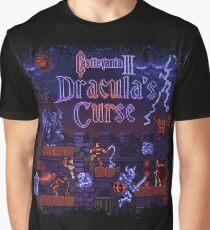Curse Vania Dracula's Castle 3 Graphic T-Shirt