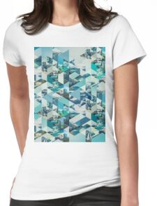 THE MOUNTAINS CALL Womens Fitted T-Shirt