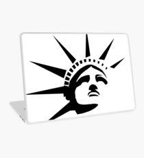 Vinilo para portátil Lady Liberty - Negro