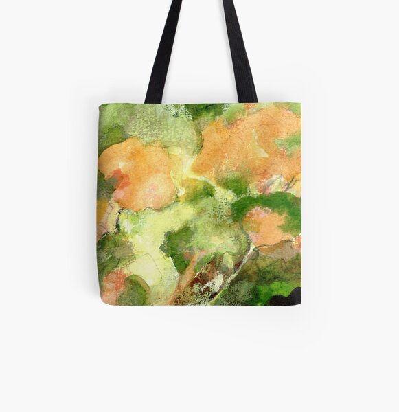 Leaves & Light All Over Print Tote Bag