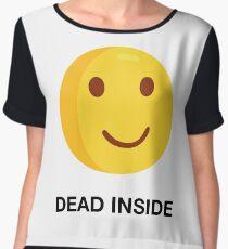 DEAD INSIDE Women's Chiffon Top