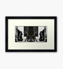 Don't Look Now. Framed Print
