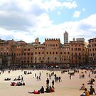 All About Italy. Piece 13 - Piazza del Campo in Siena by Igor Shrayer