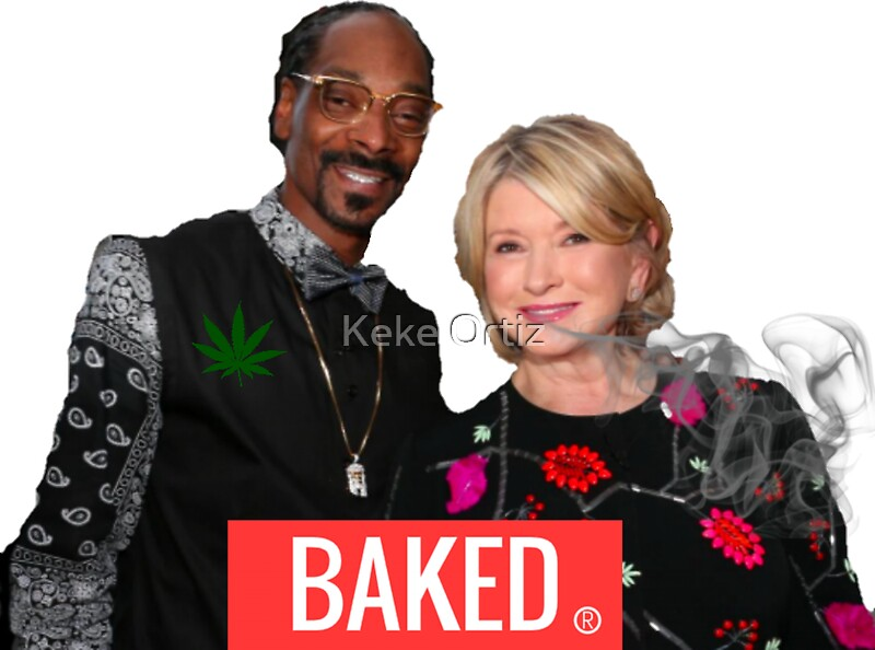 Quot Baked Snoop And Martha Quot Stickers By Shopbabypinkco