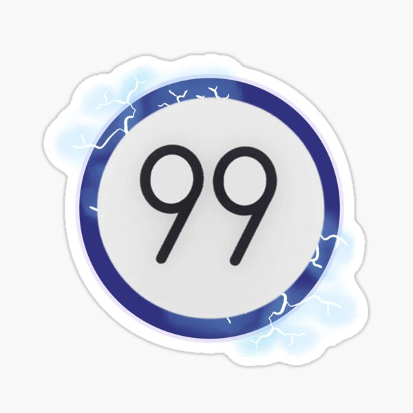 Killua Bagde 99 Pin | HxH Sticker