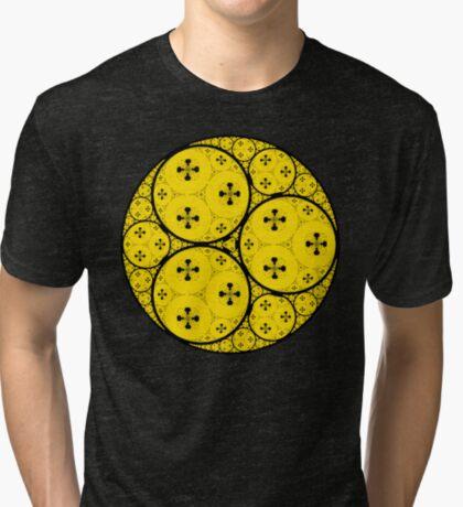 Apollonian Gasket Fractal 003 Tri-blend T-Shirt