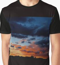 Cloudy Night Graphic T-Shirt