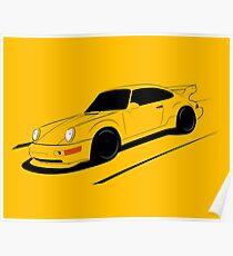 Air-cooled German Sports Car Poster