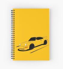 Air-cooled German Sports Car Spiral Notebook