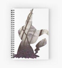 Mimikyu used mimic Spiral Notebook