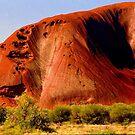 Uluru Ayres Rock NT Australia by Ronald Rockman