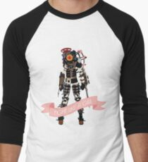 Fight Like a Girl: Big Sister Men's Baseball ¾ T-Shirt