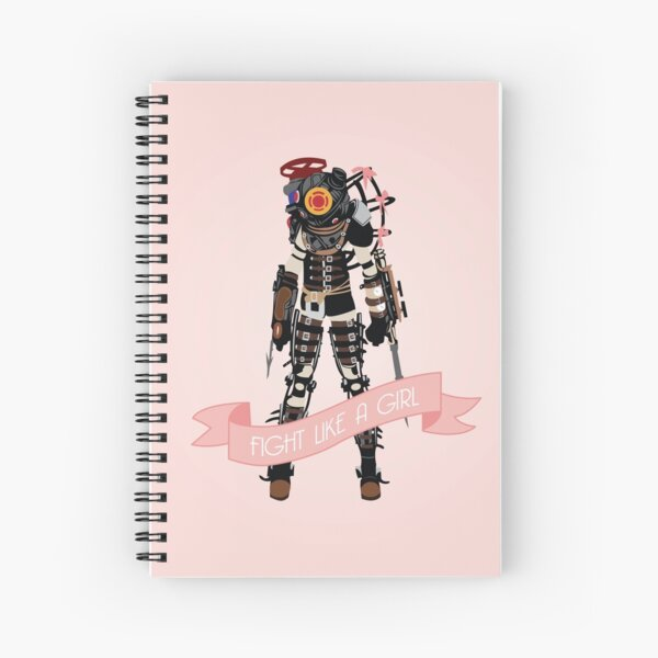 Fight Like a Girl: Big Sister Spiral Notebook