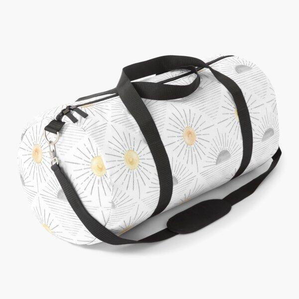 Minimalist sun pattern Duffle Bag