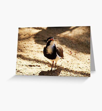 Standing All  Alone Greeting Card