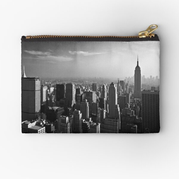 Manhattan Skyline with Empire State Building (Alan Copson ©) Zipper Pouch