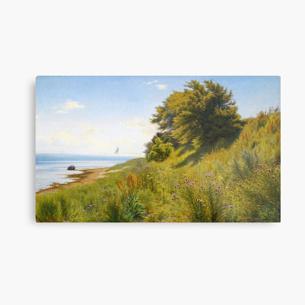 Summer day by the sea Metal Print