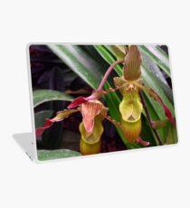 Slipper Orchid Laptop Skin