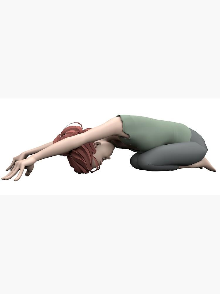 «Yoga posture de l'enfant» par Pidl