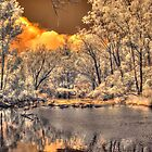 Murray River infrared by BigAndRed