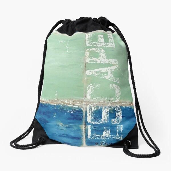 Bayside Escape Drawstring Bag