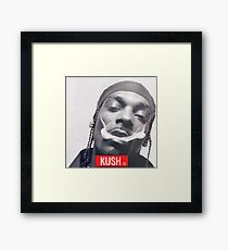 Kush snoop dogg Framed Print