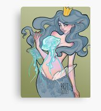 Queen of the Jellies Canvas Print