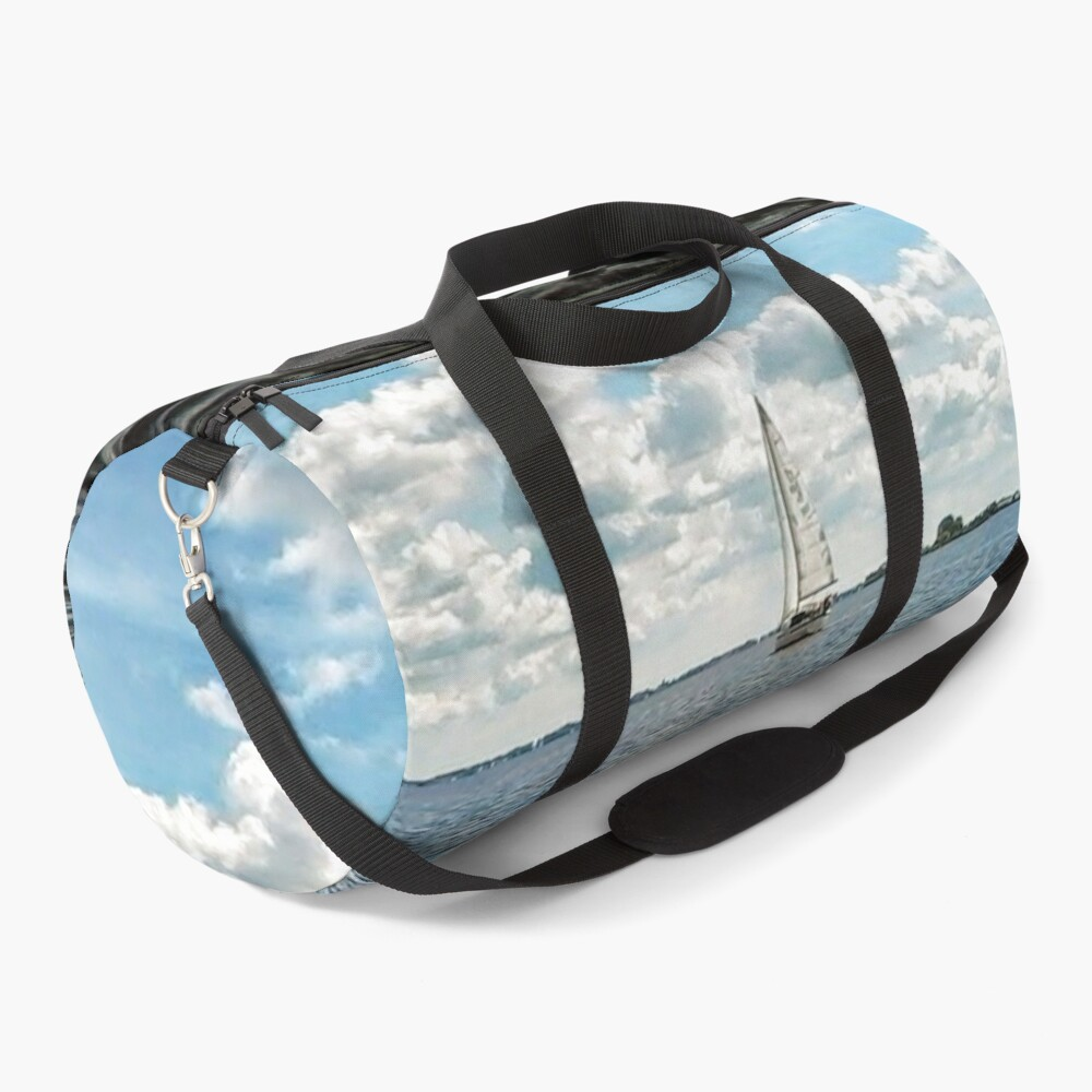 Summer Day On The Water Duffle Bag