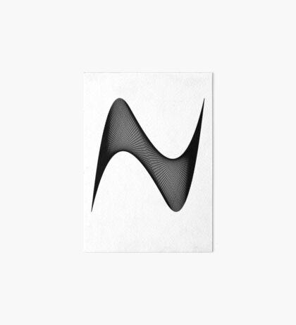 Lissajous XI Art Board Print