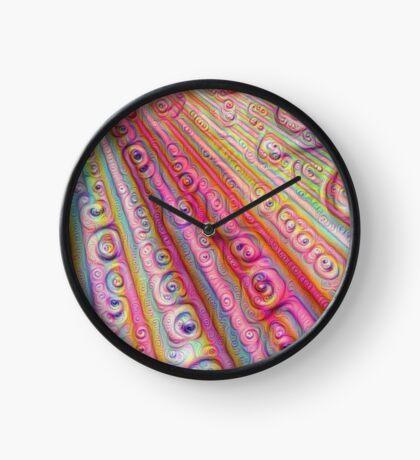 Seashells #DeepDream Clock