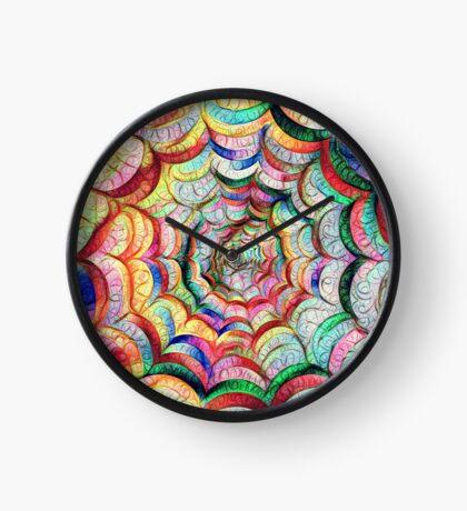 Spider web #DeepDream C Clock