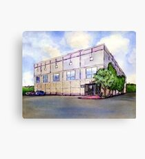 The Office Dunder Mifflin Painting Canvas Print