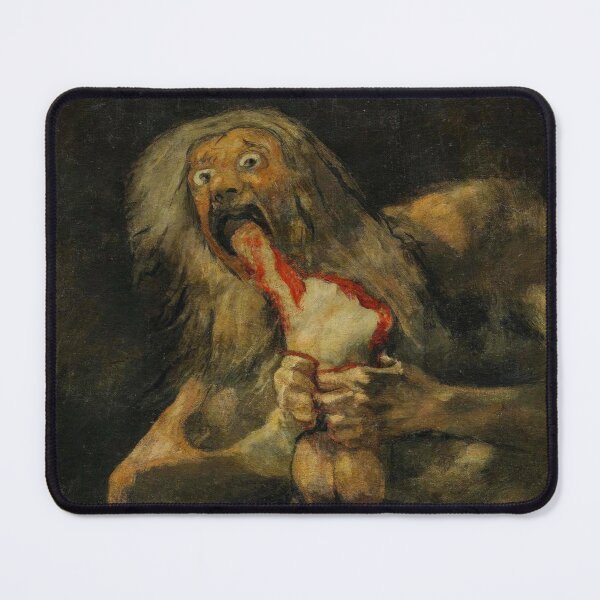 Francisco Goya Saturn Devouring His Son  Mouse Pad