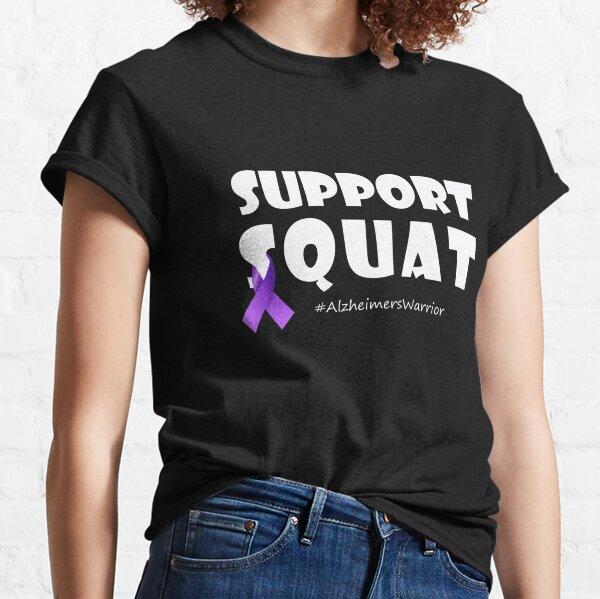 Alzheimer's Warrior, Alzheimer's Awareness, Mental Health, Alzheimers Can't Stop Love, World Alzheimer's Day, Memories Matter Classic T-Shirt