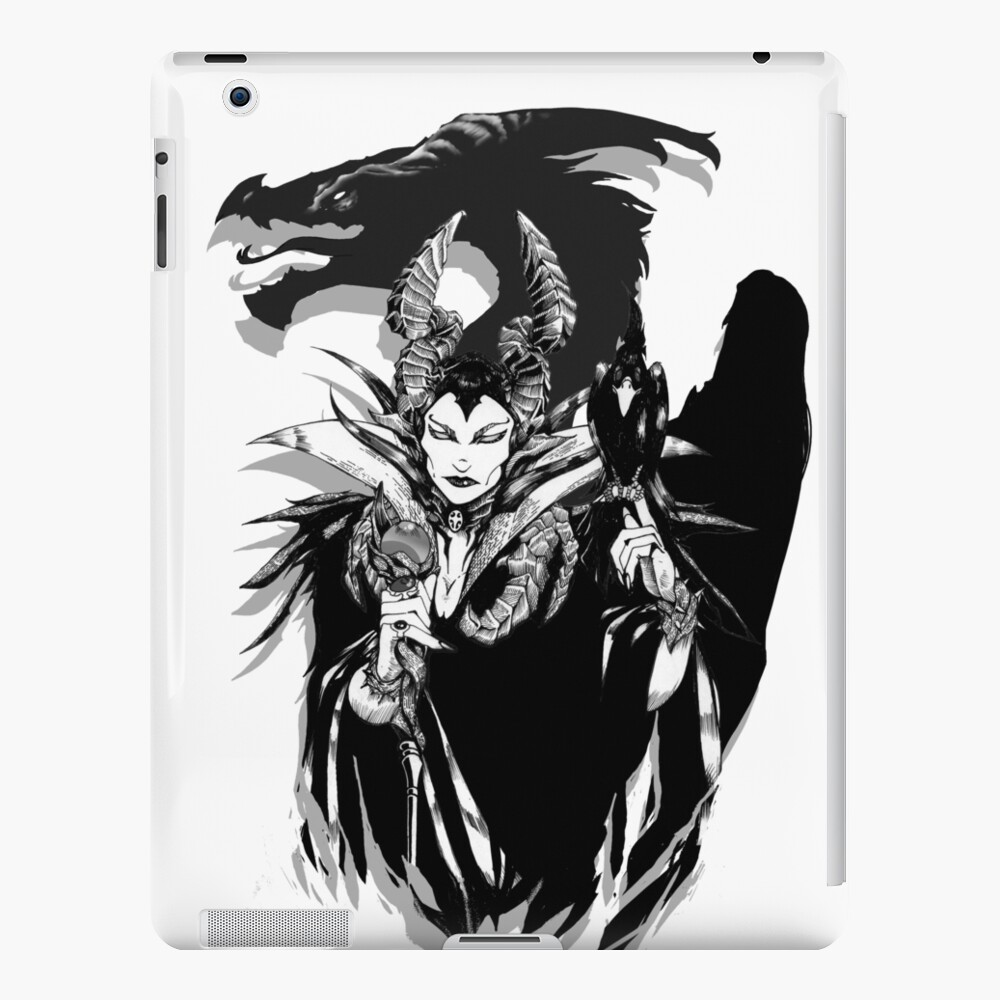 Maleficent Ipad Case Skin