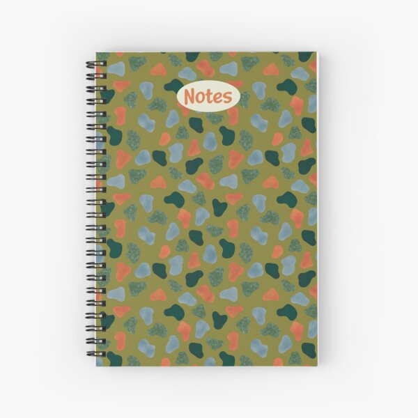 Rocks and Earth Pattern Notebook Spiral Notebook