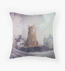 Ginger Spells Throw Pillow