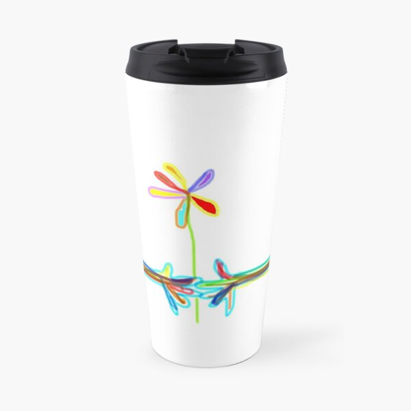 Giving and receiving a piece of rainbow - items Travel Mug
