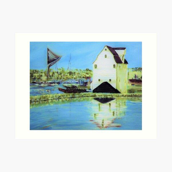 Woodbridge Tide Mill Art Print