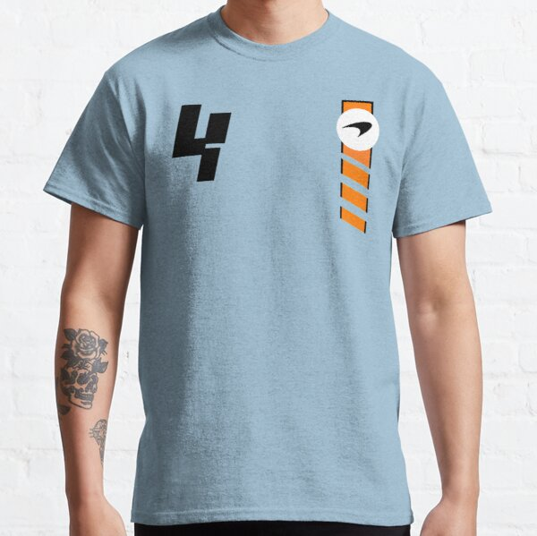 NORRIS 4 - 2021 Monaco GP / New MCL Livery Design For Classic T-Shirt