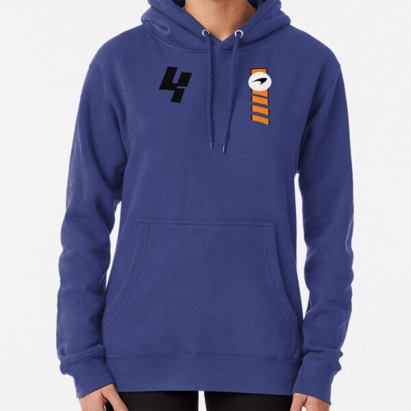 NORRIS 4 - 2021 Monaco GP / New MCL Livery Design For Pullover Hoodie