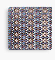 Persian Paper Pattern - Tiles Canvas Print