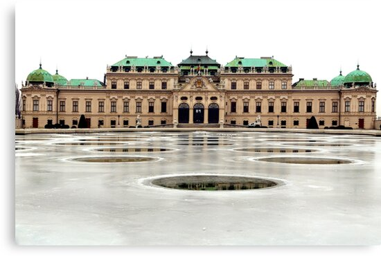 The Belvedere Palace in Vienna by Igor Shrayer