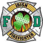 Malteese Cross IRISH Firefigter by Tony  Bazidlo