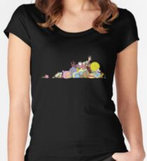 Sugar Rush Fitted Scoop T-Shirt